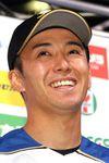 5月31日のDeNA戦で623日ぶりの白星を挙げ、笑みがはじけた日本ハム・斎藤
